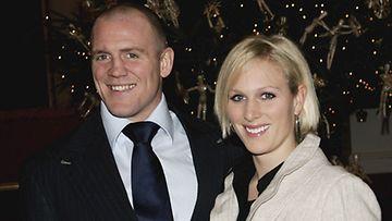 Zara Phillips ja Mike Tindall menivät kihloihin joulun alla.