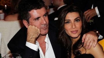 Simon Cowell, Mezhgan Hussainy (Kuva: Getty/All Over Press)