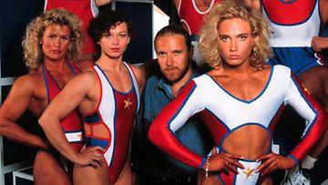 MTV3:n Gladiaattori-ohjelman kilpailijat ja Renny Harlin (MTV3)