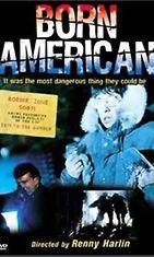 Born American - Jäätävä polte -elokuvan dvd:n kansi