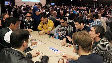 Pokeriturnaus käynnissä