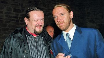 Markus Selin ja Renny Harlin (Lehtikuva)