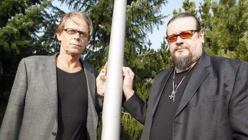 Toivo Sukari ja Markus Selin (Lehtikuva)