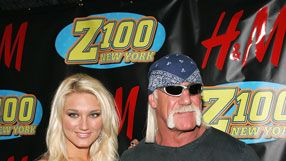 Brooke ja Hulk Hogan. (Kuva: Bryan Bedder/Getty Images Entertainment)
