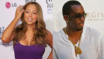 Mariah Carey ja P. Diddy kisaavat hajuvesissä (Kuva: Bryan Bedder/ Getty Images)
