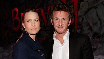 Robin Wright Penn ja  Sean Penn  marraskuussa 2007 (Kuva: Kevin Winter/Getty Images)