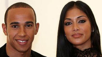 Lewis Hamilton ja Nicole Scherzinger. (Kuva: Dave Hogan/Getty Images Entertainment)