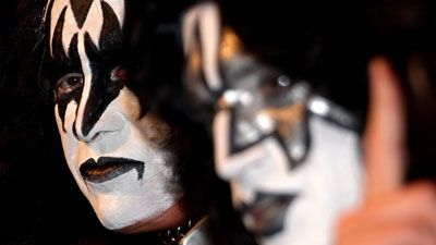 KISS-legenda Gene Simmons. (Kuva: Luis Ascui/Getty Images Entertainment)