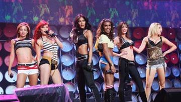 Pussycat Dolls Live Earth -konsertissa Lontoossa. Kuva: MJ Kim/Getty Images
