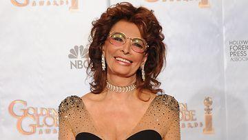 N�yttelij�legenda Sophia Loren t�ytt�� py�reit�!