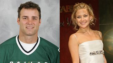 Eric Lindros ja Kate Hudson (Getty)