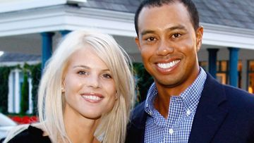 Tiger Woods ja Elin Nordegren (Kuva: David Cannon/Getty Images)