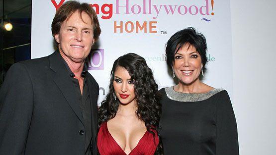 Bruce Jenner, Kim ja Kris.