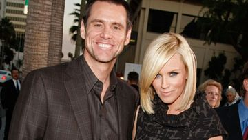 Jim Carrey ja Jenny McCarthy (Kuva: Kevin Winter/Getty Images)