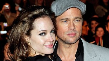 Angelina Jolie ja Brad Pitt. (Getty)