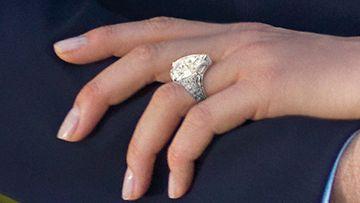 Monacon prinssi Albert ja Charlene Wittstock kihlasormus (EPA)