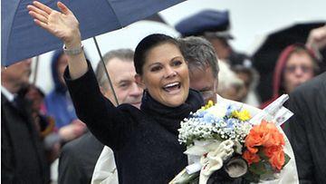 Ruotsin kruunuprinsessa Victoria vieraili Torniossa syyskuussa 2011.