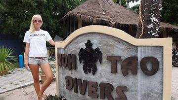 Elina Koskivuori ja Koh Tao Divers