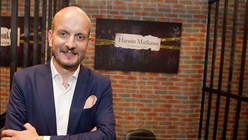 MTV3 esitteli syksyn ohjelmistoaan Helsingissä keskiviikkona 22. elokuuta 2012. Tähtikokki Hans Välimäki on mukana ruokaohjelmassa Hansin matkassa.