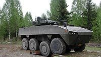 AMV 8x8 Armoured Modular Vehicle