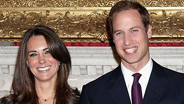Prinssi William ja morsian Kate Middleton