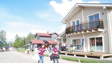Loma-asuntorakentaminen sijoittuu tulevaisuudessa yhä enemmän palvelukeskittymiin.