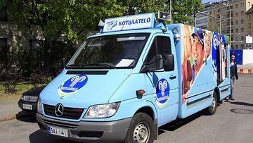 Jäätelöauto Tunnari