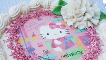 Ulla Svenskin Hello Kitty -kakku.