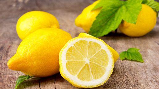 Mikron puhdistus sitruunalla