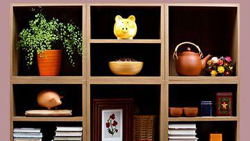 Tavarat saa järjestykseen hankkiutamalla eroon ylimääräisistä esineistä.