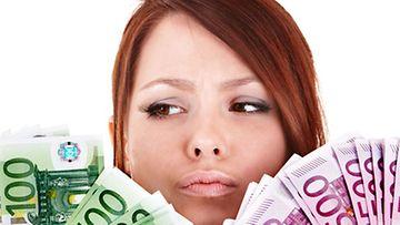 Eurot saattavat kadota kassaan tuoksujen vaikutuksesta.