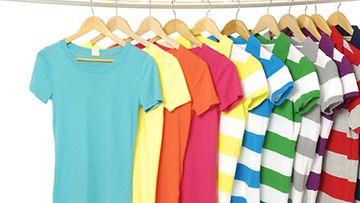 Laita vaatteesi järjestykseen.