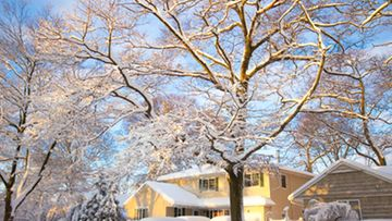 Runsasluminen talvi voi tehdä hallaa katollesi.