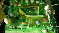 vihreä kakku