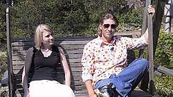 Katja ja Harri Puumalassa