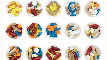 Vitamiineja löytyy moneen lähtöön.