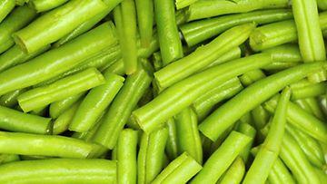 Vihreät pavut ovat hyvä proteiinin lähde.