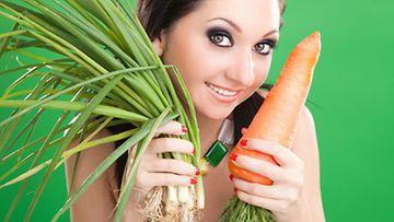 Haluatko olla hedelmällisempi? Muun muassa porkkanasta voi olla apua.