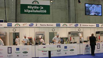 Vuoden Kokki -kilpailun semifinaali Gastro-messuilla 14.3.2012