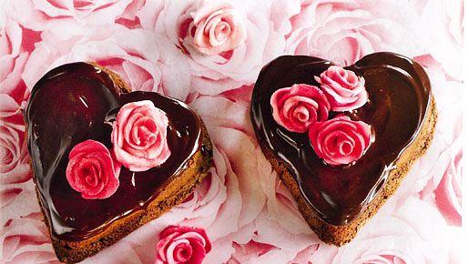 Suklaasydämet sulattavat varmasti äidinkin sydämen.