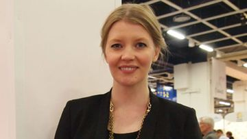 Pipsa Hurmerinta Viini, ruoka & hyvä elämä -messuilla 2012