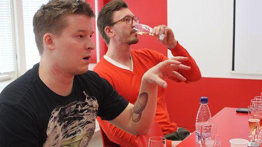 ViiniTV-blogin Ilkka Sirén toimi testiryhmän asiantuntijamaistelijana
