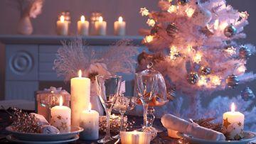 Muista myös ekologinen jouluvalaistus, se onnistuu kynttilöillä!