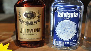 Yhden tähden Jaloviina saa kaverikseen kahden tähden Retro-Jallun.