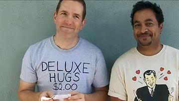 Amerikkalaiskaksikko kirjoitti toisilleen päättömän ostoslistan. Kuvakaappaus: You Tube.