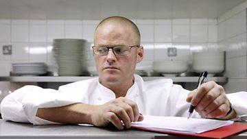 Kolmen Michelin-tähden kokki Heston Blumenthal