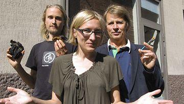 Olli posti väitteli Hullu juttu-ohjelmassa Markku Myllykankaan kanssa