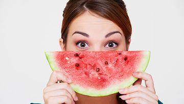 Saako vesimelonin vihreää osaa syödä?
