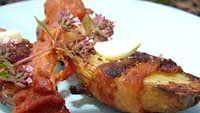 Valkosipuli-pekoniperunat