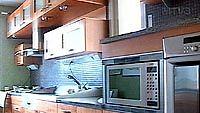 Keittiönäkymää Tuusulan asuntomessuilla